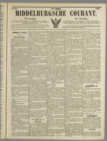 Middelburgsche Courant 1906-10-31