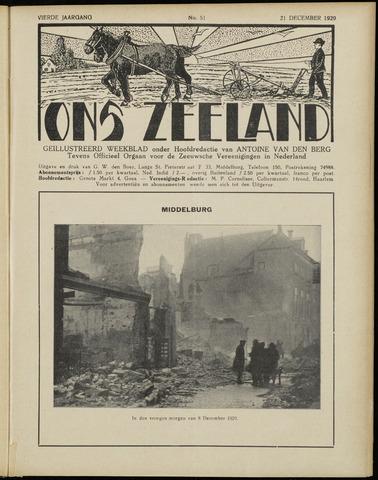 Ons Zeeland / Zeeuwsche editie 1929-12-21