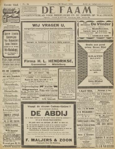 de Faam en de Faam/de Vlissinger 1924-03-19