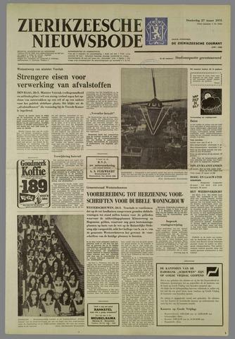 Zierikzeesche Nieuwsbode 1975-03-27