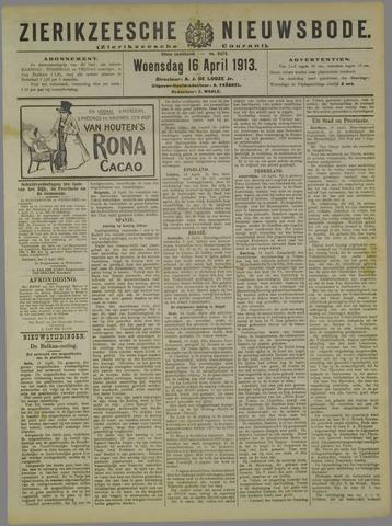 Zierikzeesche Nieuwsbode 1913-04-16