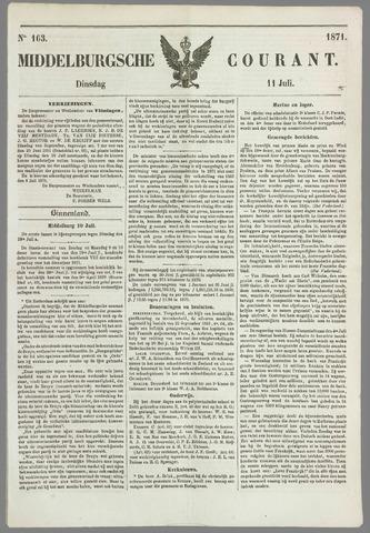 Middelburgsche Courant 1871-07-11