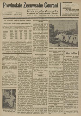 Provinciale Zeeuwse Courant 1941-01-09