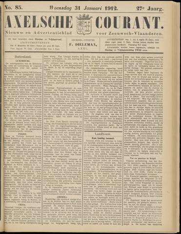 Axelsche Courant 1912-01-31
