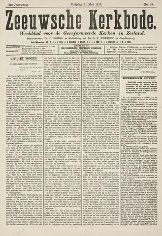 Zeeuwsche kerkbode, weekblad gewijd aan de belangen der gereformeerde kerken/ Zeeuwsch kerkblad 1917-05-11