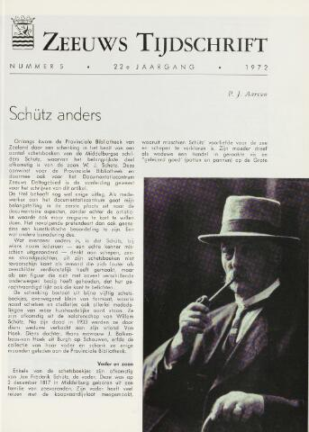 Zeeuws Tijdschrift 1972-09-01