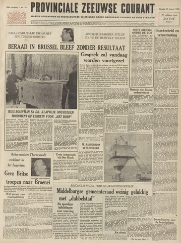 Provinciale Zeeuwse Courant 1963-01-29