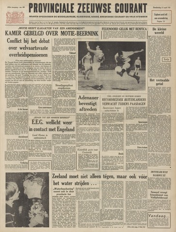 Provinciale Zeeuwse Courant 1963-04-11