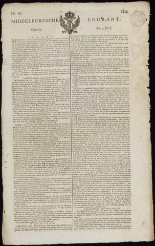 Middelburgsche Courant 1814-06-04
