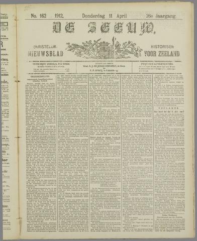 De Zeeuw. Christelijk-historisch nieuwsblad voor Zeeland 1912-04-11