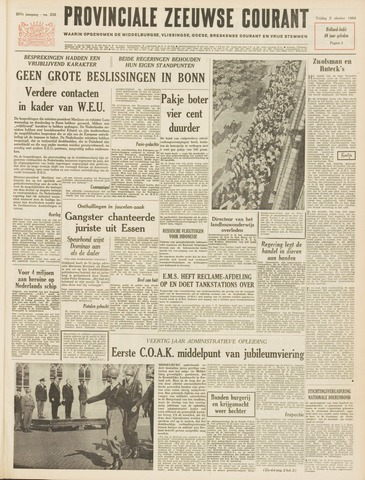 Provinciale Zeeuwse Courant 1964-10-02