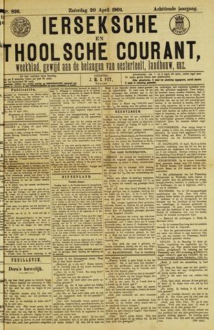 Ierseksche en Thoolsche Courant 1901-04-20