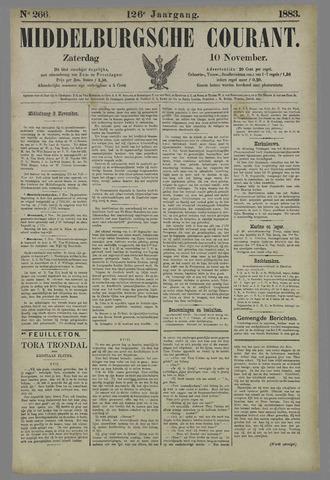 Middelburgsche Courant 1883-11-10