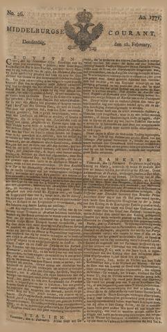 Middelburgsche Courant 1771-02-28