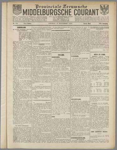 Middelburgsche Courant 1932-11-15