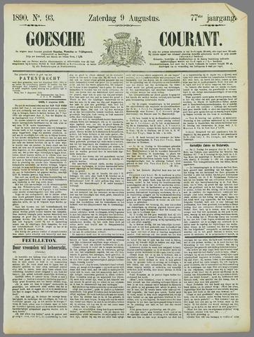 Goessche Courant 1890-08-09
