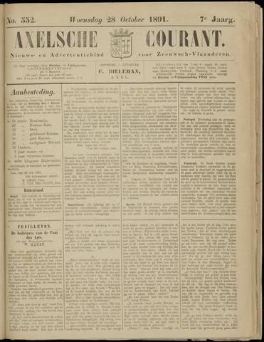 Axelsche Courant 1891-10-28