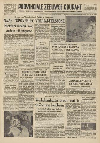 Provinciale Zeeuwse Courant 1958-11-04
