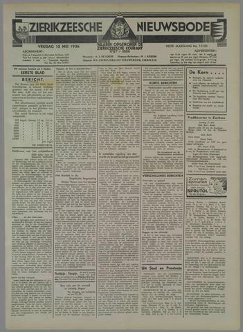 Zierikzeesche Nieuwsbode 1936-05-15