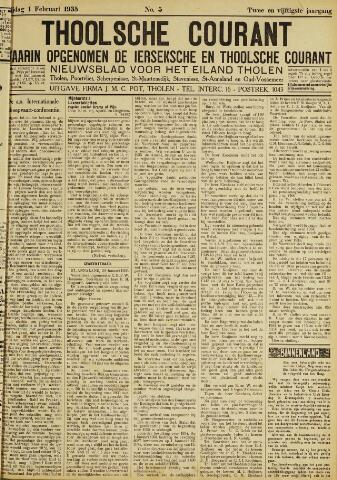 Ierseksche en Thoolsche Courant 1935-02-01