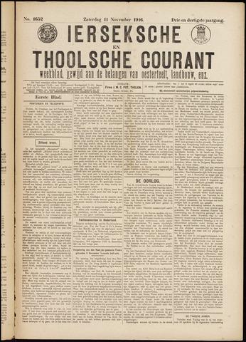 Ierseksche en Thoolsche Courant 1916-11-11