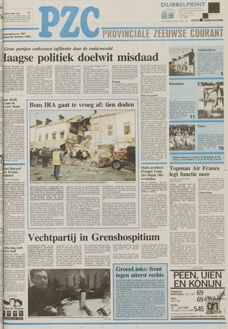 Provinciale Zeeuwse Courant 1993-10-25