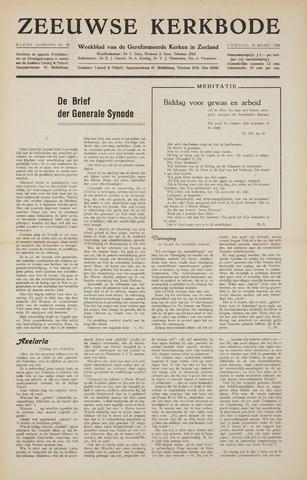 Zeeuwsche kerkbode, weekblad gewijd aan de belangen der gereformeerde kerken/ Zeeuwsch kerkblad 1956-03-16