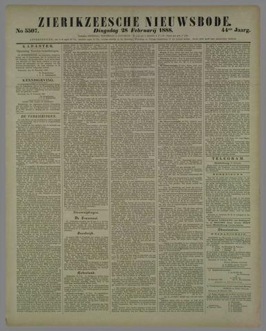 Zierikzeesche Nieuwsbode 1888-02-28