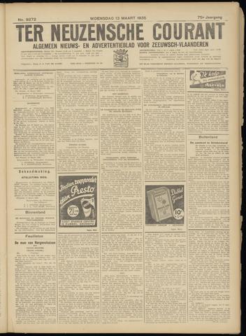 Ter Neuzensche Courant. Algemeen Nieuws- en Advertentieblad voor Zeeuwsch-Vlaanderen / Neuzensche Courant ... (idem) / (Algemeen) nieuws en advertentieblad voor Zeeuwsch-Vlaanderen 1935-03-13