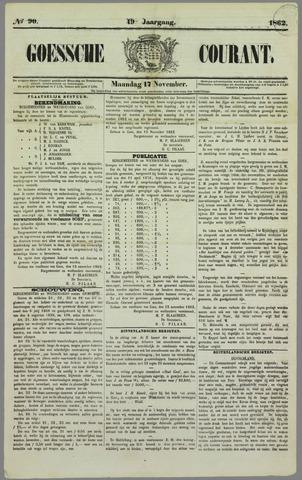 Goessche Courant 1862-11-17