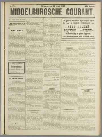 Middelburgsche Courant 1927-05-25