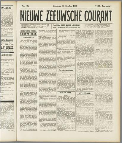 Nieuwe Zeeuwsche Courant 1909-10-23