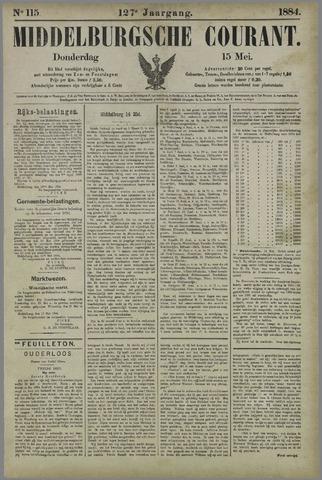 Middelburgsche Courant 1884-05-15