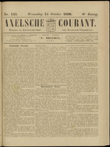 Axelsche Courant 1890-10-15