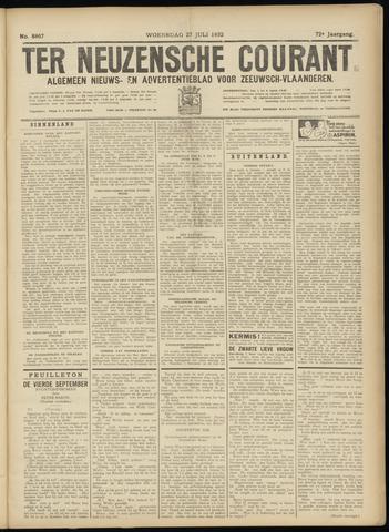 Ter Neuzensche Courant. Algemeen Nieuws- en Advertentieblad voor Zeeuwsch-Vlaanderen / Neuzensche Courant ... (idem) / (Algemeen) nieuws en advertentieblad voor Zeeuwsch-Vlaanderen 1932-07-27