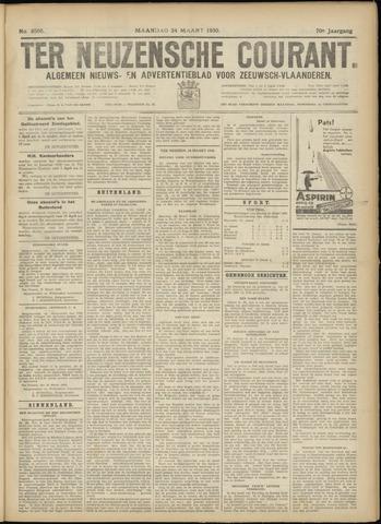 Ter Neuzensche Courant. Algemeen Nieuws- en Advertentieblad voor Zeeuwsch-Vlaanderen / Neuzensche Courant ... (idem) / (Algemeen) nieuws en advertentieblad voor Zeeuwsch-Vlaanderen 1930-03-24