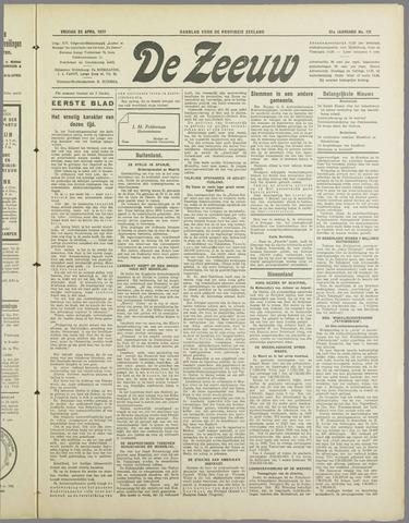 De Zeeuw. Christelijk-historisch nieuwsblad voor Zeeland 1937-04-23