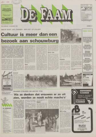 de Faam en de Faam/de Vlissinger 1988-11-23
