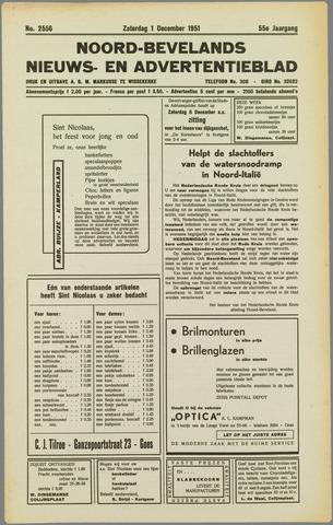 Noord-Bevelands Nieuws- en advertentieblad 1951-12-01