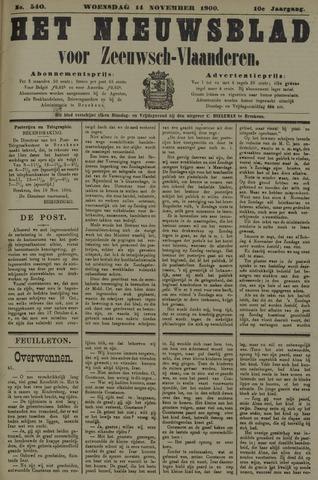 Nieuwsblad voor Zeeuwsch-Vlaanderen 1900-11-14