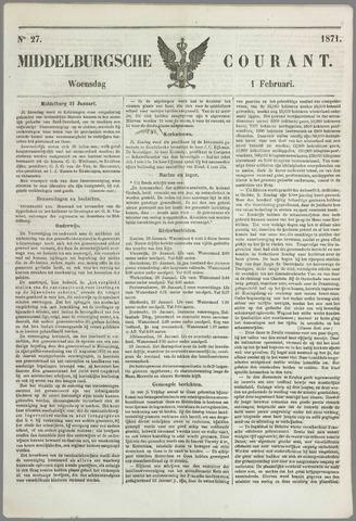 Middelburgsche Courant 1871-02-01