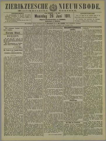 Zierikzeesche Nieuwsbode 1911-06-26