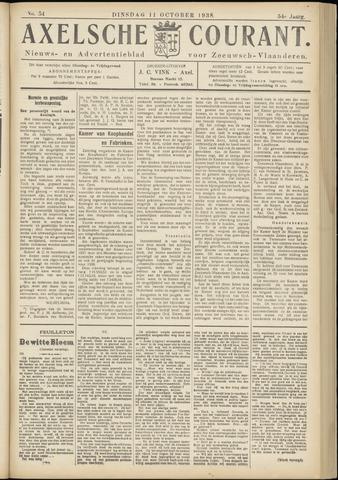 Axelsche Courant 1938-10-11