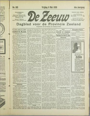 De Zeeuw. Christelijk-historisch nieuwsblad voor Zeeland 1930-05-09