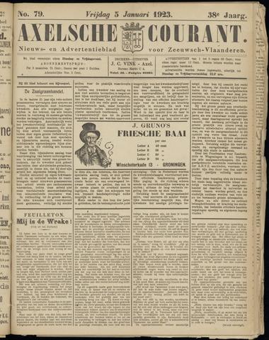 Axelsche Courant 1923-01-05