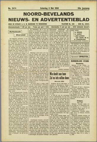 Noord-Bevelands Nieuws- en advertentieblad 1950-05-06