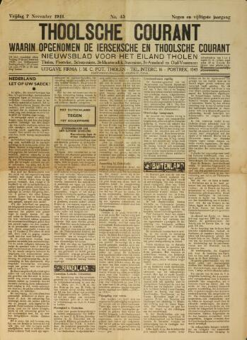 Ierseksche en Thoolsche Courant 1941-11-07