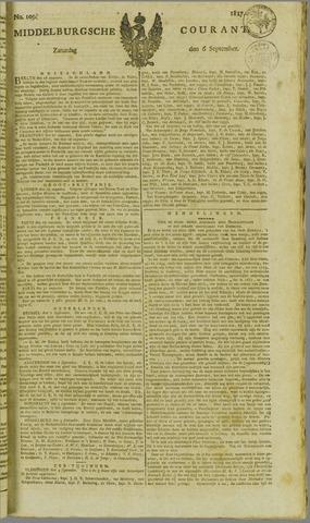 Middelburgsche Courant 1817-09-06