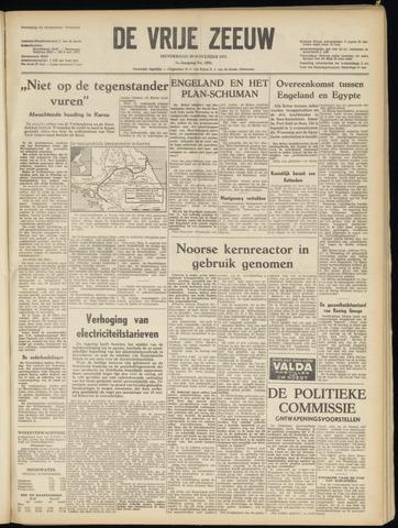 de Vrije Zeeuw 1951-11-29