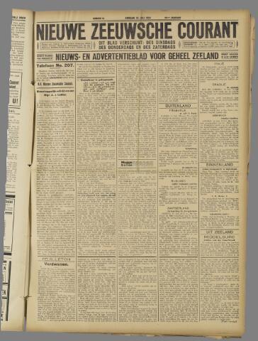 Nieuwe Zeeuwsche Courant 1924-07-15